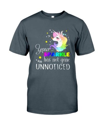 Unicorn Sparkle Notice