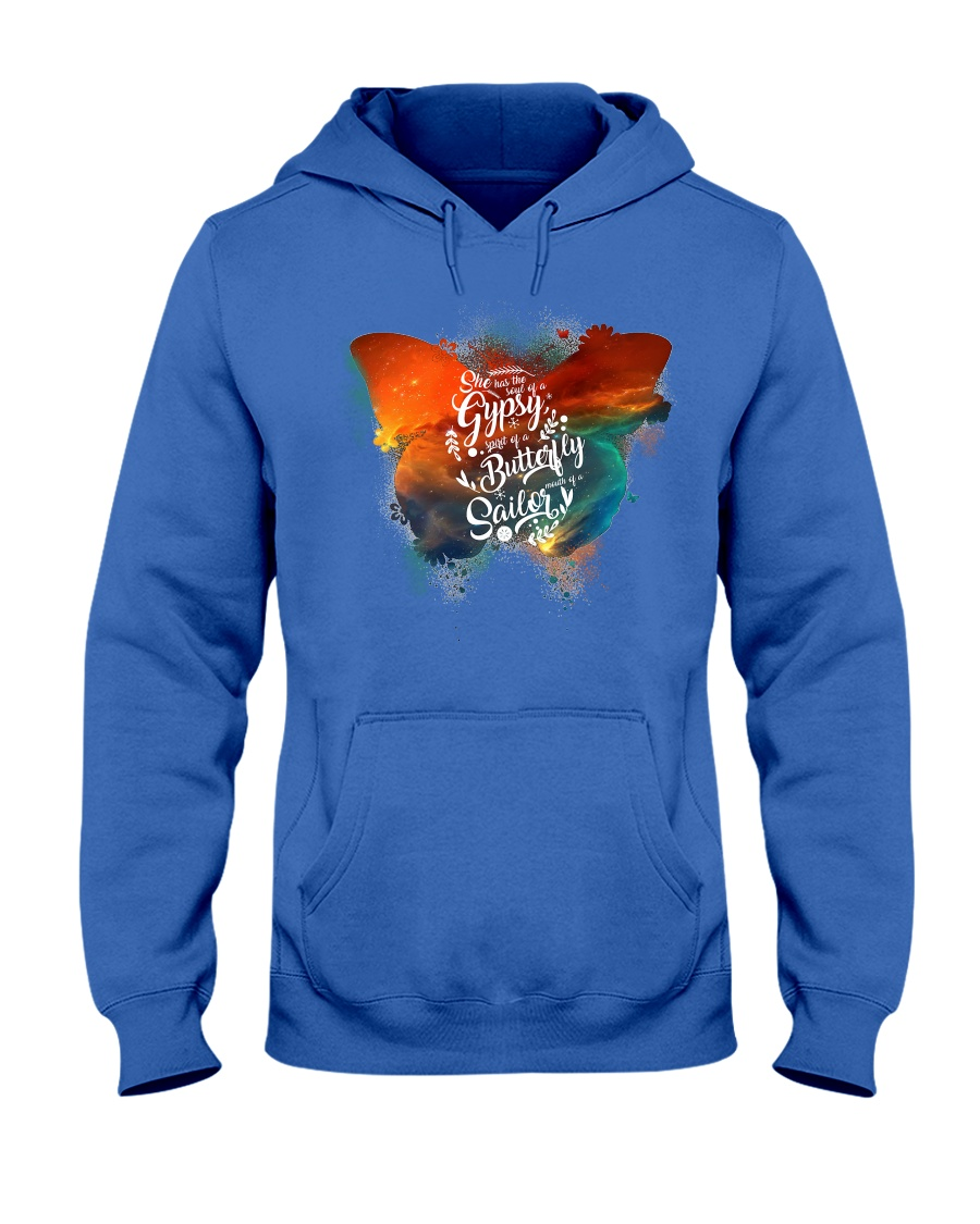 I Have The Spirit of a Butterfly Hooded Sweatshirt