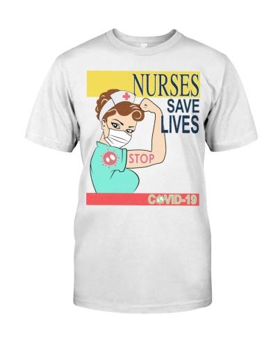 Nurses Save Life White