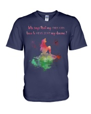 Mermaid in my dream V-Neck T-Shirt thumbnail