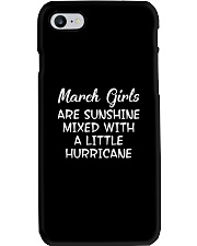 Funny- March Girls Phone Case tile