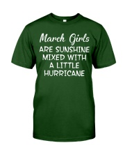 Funny- March Girls Classic T-Shirt front