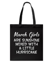 Funny- March Girls Tote Bag tile