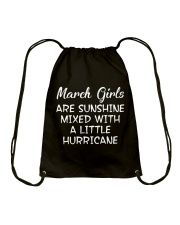 Funny- March Girls Drawstring Bag thumbnail