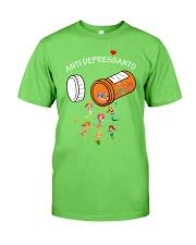 Mermaid Anti Depressants Classic T-Shirt front