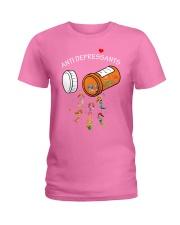 Mermaid Anti Depressants Ladies T-Shirt thumbnail