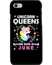 Unicorn Queens Are Born In June Phone Case thumbnail