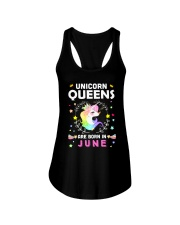 Unicorn Queens Are Born In June Ladies Flowy Tank thumbnail