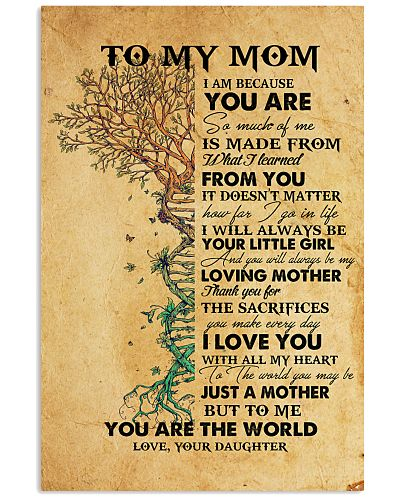 Nurse Daughter To My Mom Poster