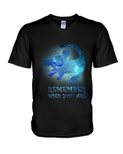 LK- Remember V-Neck T-Shirt thumbnail