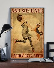 German Shepherd And She Lived Happily Ever After 11x17 Poster lifestyle-poster-2