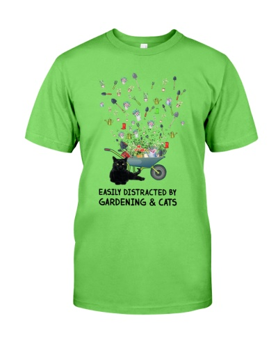Gardening Easily Distracted By Gardening And Cats