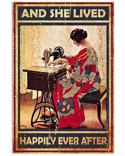 Sewing  And She Lived Happily Ever After Vintage