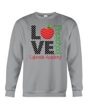 Teacher - Love - Preschool Crewneck Sweatshirt thumbnail