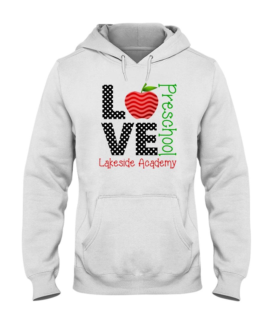 Teacher - Love - Preschool Hooded Sweatshirt