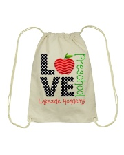 Teacher - Love - Preschool Drawstring Bag thumbnail