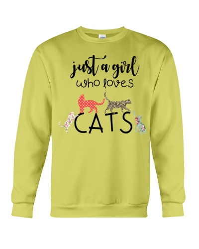 Cat Just A Girl Who Loves Cats