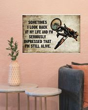 CYCLING SOMETIMES I LOOK BACK ON MY LIFE 24x16 Poster poster-landscape-24x16-lifestyle-22