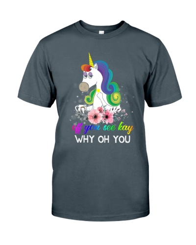 Unicorn Eff You See Kay Why Oh You