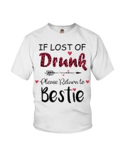 Wine If Lost Of Drunk Youth T-Shirt thumbnail