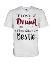 Wine If Lost Of Drunk V-Neck T-Shirt thumbnail