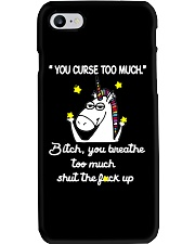You Curse Too Much  Phone Case thumbnail