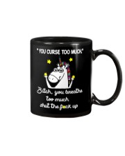 You Curse Too Much  Mug tile
