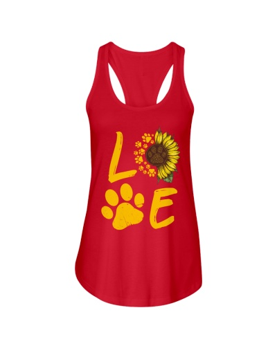 Dog Love Sunflower