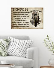MOTORCYCLE I CHOOSE 24x16 Poster poster-landscape-24x16-lifestyle-01
