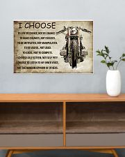 MOTORCYCLE I CHOOSE 24x16 Poster poster-landscape-24x16-lifestyle-25