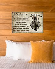 MOTORCYCLE I CHOOSE 24x16 Poster poster-landscape-24x16-lifestyle-27