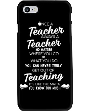 Teacher Once A Teacher Phone Case thumbnail