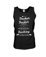 Teacher Once A Teacher Unisex Tank thumbnail