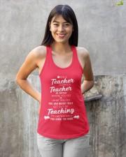 Teacher Once A Teacher Ladies Flowy Tank apparel-ladies-flowy-tank-lifestyle-front-23