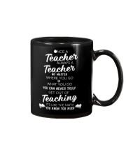 Teacher Once A Teacher Mug thumbnail