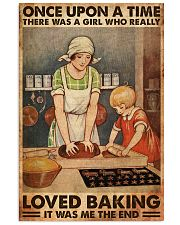 BAKING ONCE UPON A GIRL LOVED BAKING 1 11x17 Poster front