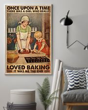 BAKING ONCE UPON A GIRL LOVED BAKING 1 11x17 Poster lifestyle-poster-1