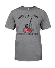 Country Music - Just A Girl Classic T-Shirt tile