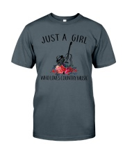 Country Music - Just A Girl Classic T-Shirt front