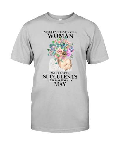 Never Underestimate A Woman Was Born In May