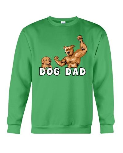 Pitbull Gold Cool Powerful Dog Dad