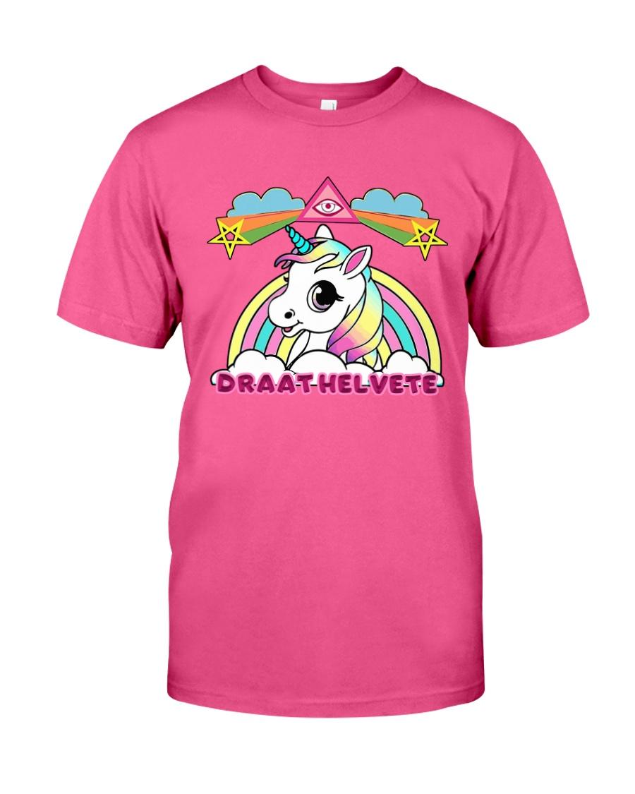Unicorn - Rainbow Classic T-Shirt