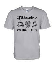 If It Involves Music V-Neck T-Shirt thumbnail