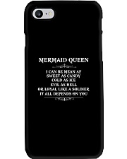 I'm a mermaid queen Phone Case thumbnail