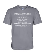 I'm a mermaid queen V-Neck T-Shirt thumbnail