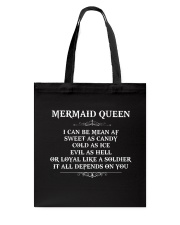 I'm a mermaid queen Tote Bag thumbnail