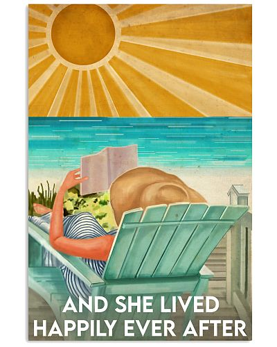 Book And She Lived Happily Ever After Poster