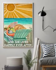 Book And She Lived Happily Ever After Poster 11x17 Poster lifestyle-poster-1