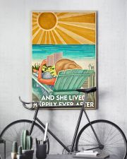 Book And She Lived Happily Ever After Poster 11x17 Poster lifestyle-poster-7