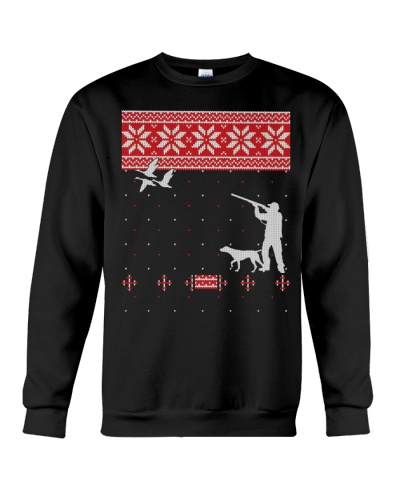 Cute Duck Hunting Ugly Christmas Sweater Gift